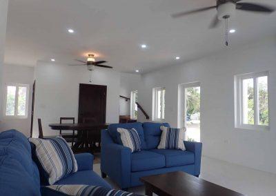 Bay's Edge Belize - Living Area
