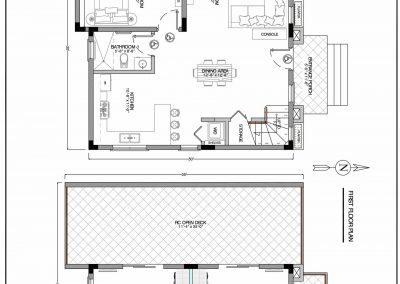 Bay's Edge Belize Floor Plans